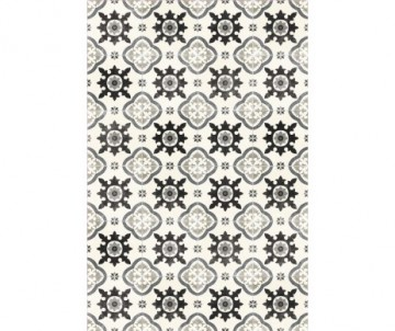 rectangle vintage floor mat